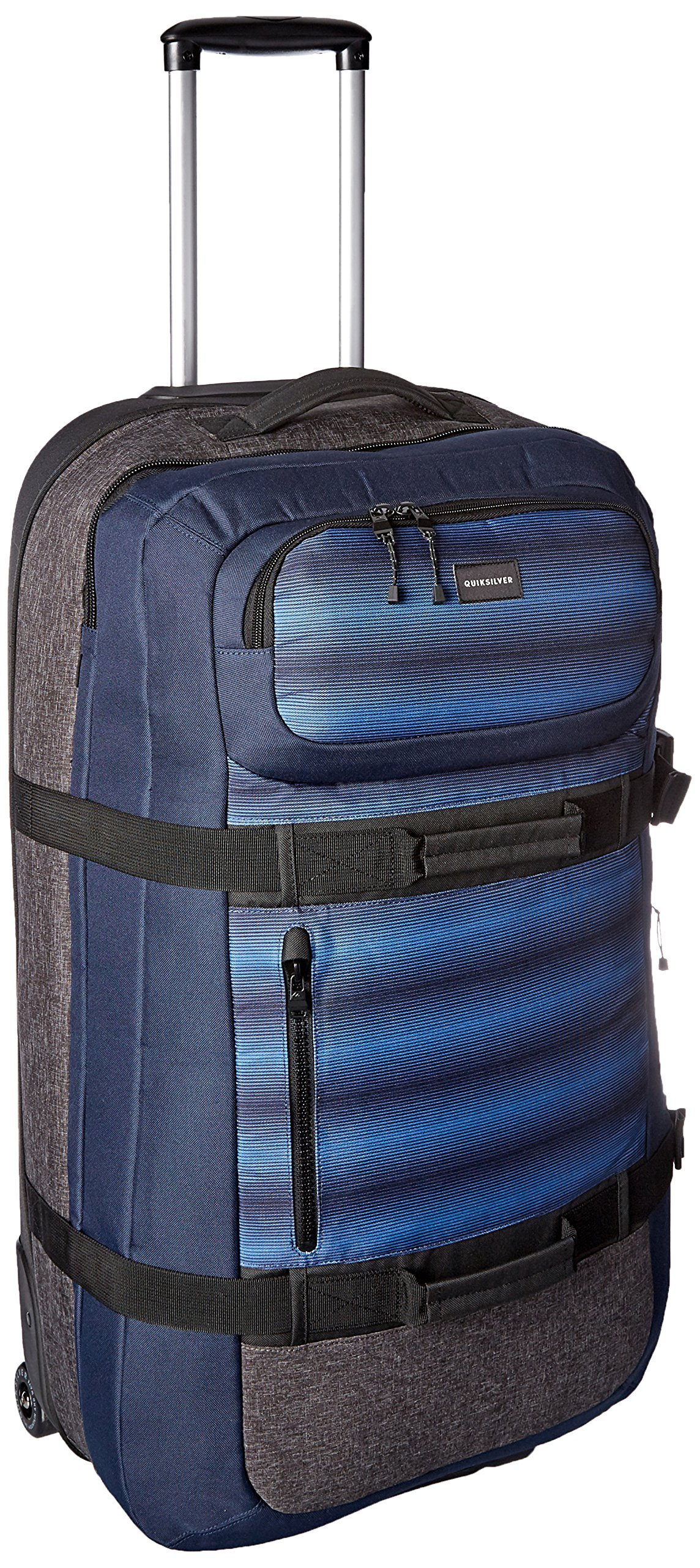 Quiksilver Young Men's Reach Luggage Roller Bag Accessory, -navy blazer, One Size