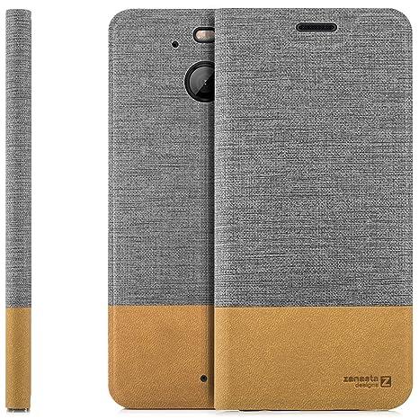 Zanasta Funda HTC 10 EVO Case Cubierta Carcasa Flip Cover ...