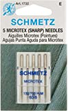 Microtex Sharp Machine Needles-Size 8/60 5/Pkg