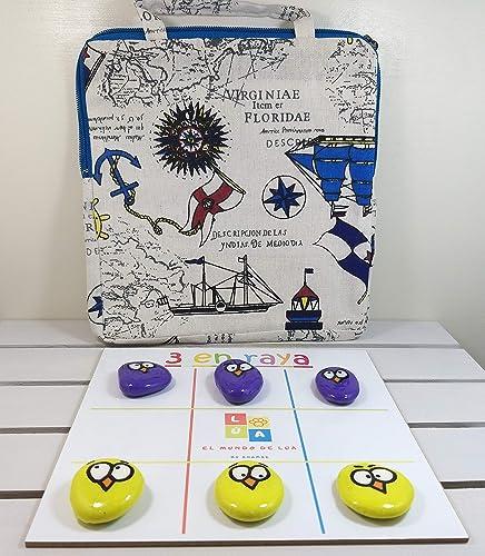 Pack de 3 juegos de mesa hechos a mano: Amazon.es: Handmade