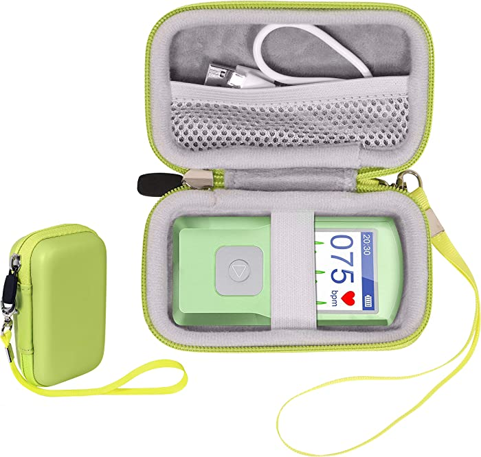 CaseSack EKG Heart Rate Monitor Case for SonoHealth, EMAY Handheld EKG Monitor, Wireless Handheld Home ECG Cardio & Electrocardiogram Machine