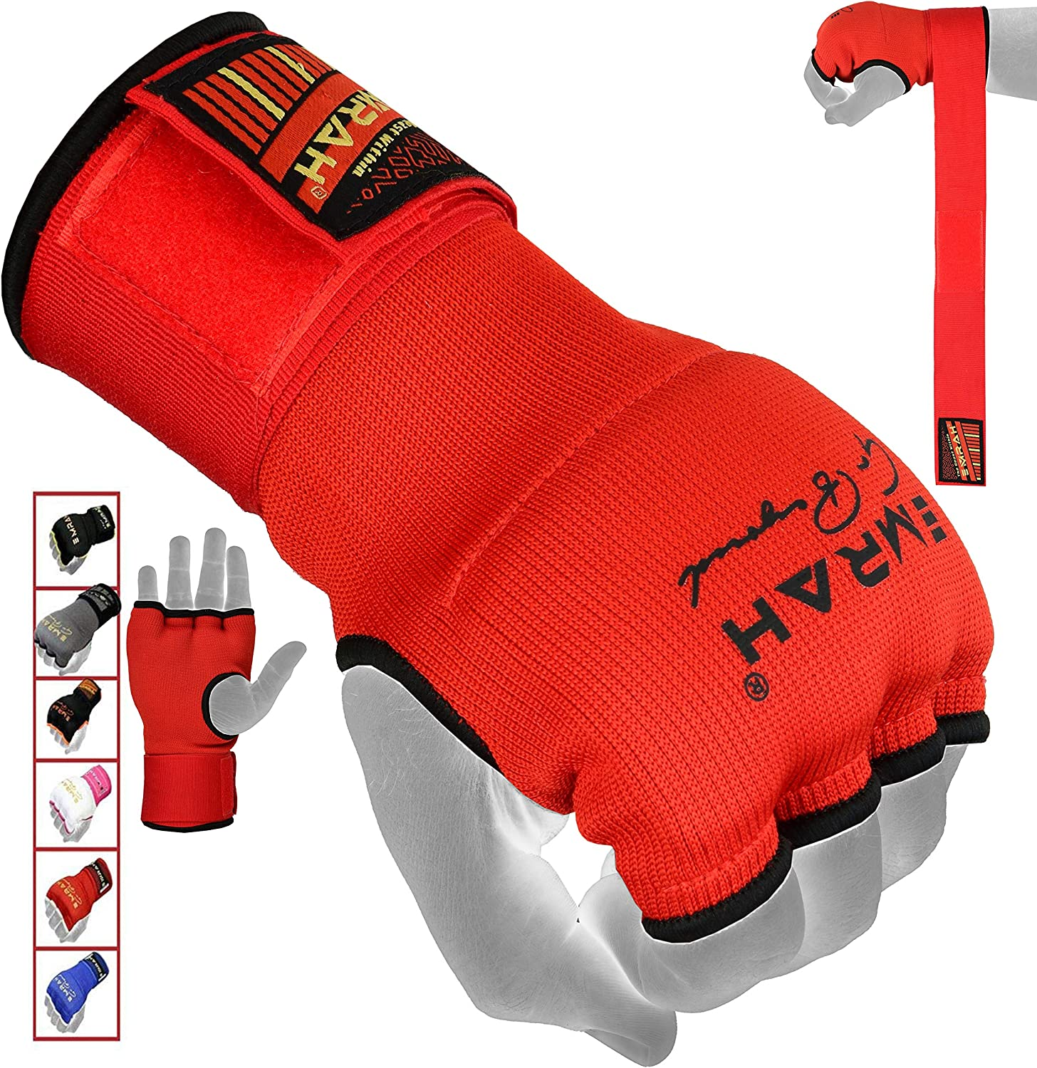 EMRAH PRO Training Boxing Inner Gloves Hand Wraps MMA Wraps Mitts - X : Sports & Outdoors
