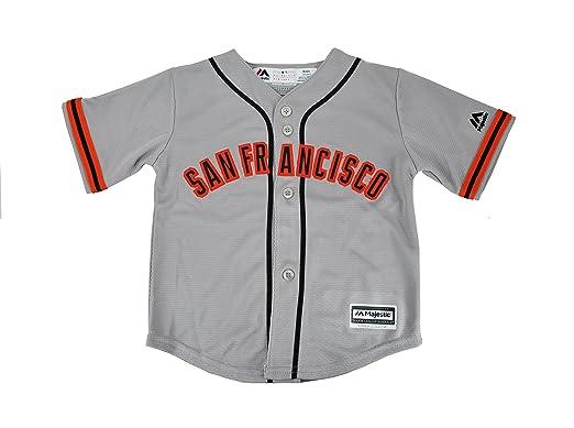 755dc0e03 Majestic Youth Big Kid s San Francisco Giants Major League Baseball MLB  Jersey (Small)