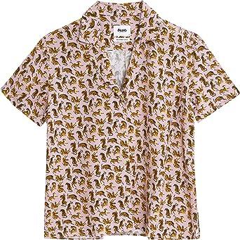 Brava Fabrics Blusa Aloha Roar Roar - Viscosa Ecovero: Amazon ...