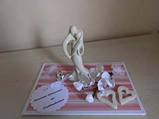 Orchideenhochzeit - Geldgeschenk - 17 Jahre Ehe
