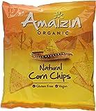 Amaizin Organic Natural Corn Chips 75 g (Pack of 8)