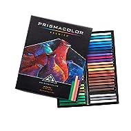 Prismacolor 27051 Premier NuPastel Firm Pastel Color Sticks, 48-Count