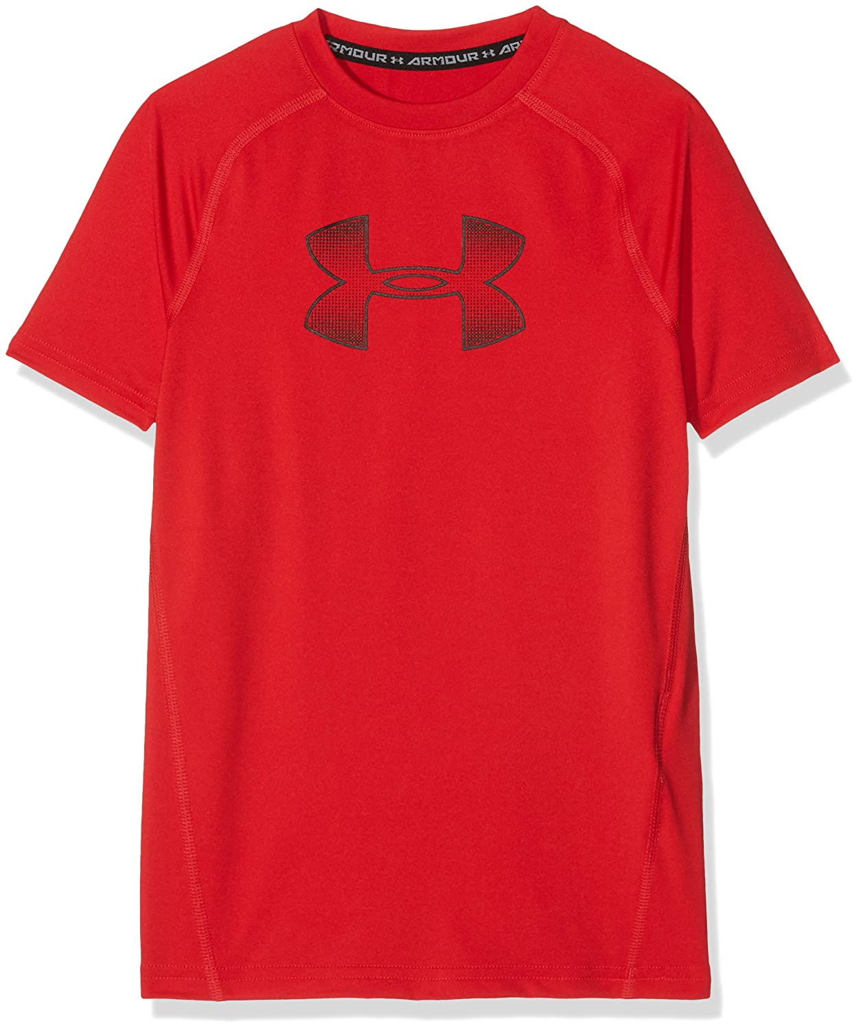 Under Armour Boys' HeatGear Armour Short Sleeve Fitted Shirt Under Armour Apparel 1289957