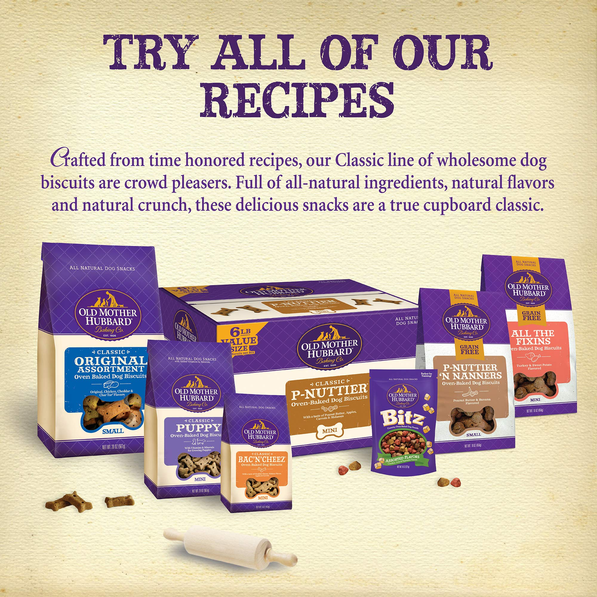 Old Mother Hubbard Classic Crunchy Natural Puppy Treats, Mini Dog Biscuits, 5-Ounce Bag by Old Mother Hubbard (Image #7)