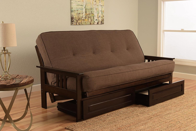 Amazon.com: Kodiak Juego de kfmodeplchalf5md4 Monterey futon ...