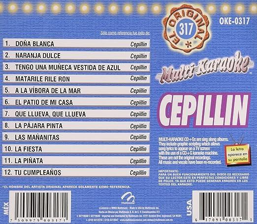 Cepillin: Multi Karaoke Exitos : Amazon.es: Música