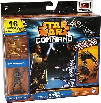 Star Wars Rebels - Command Invasion, Pack con 16 Piezas (Hasbro A8946): Amazon.es: Juguetes y juegos