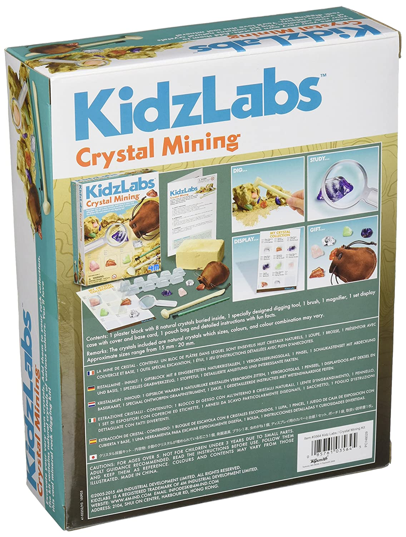 Amazon.com: 4M Crystal Mining Kit: Toys & Games
