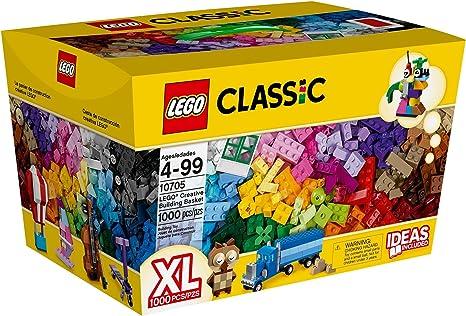 LEGO Classic Cesta de construcción Creativa - Juegos de construcción, 4 año(s), 1000 Pieza(s), Niño/niña, 99 año(s): Amazon.es: Juguetes y juegos