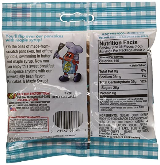 Amazon jelly belly 66318 31 oz jelly belly pancakes maple amazon jelly belly 66318 31 oz jelly belly pancakes maple syrup grocery gourmet food ccuart Choice Image