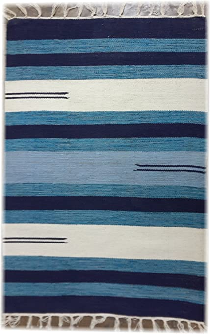 Srj Handicrafts Multi Colour Handmade Cotton Dhurrie - Rug 2 * 3 Ft.
