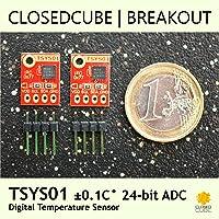 ClosedCube TSYS01 ±0.1°C 24bit ADC Digital Temperature Sensor