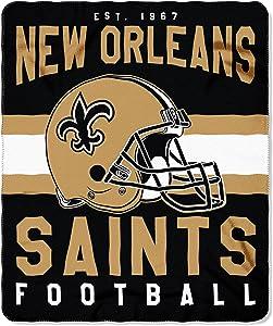 "The Northwest Company Officially Licensed NFL ""Singular"" Fleece Throw Blanket, 50"" x 60"""