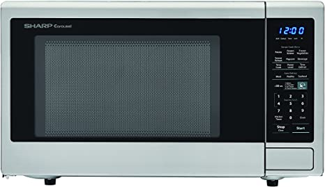 sharp carousel microwave with orville
