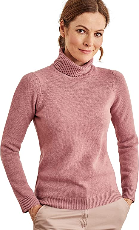 Femme Laine dagneau Wool Overs Pull /à col Rond