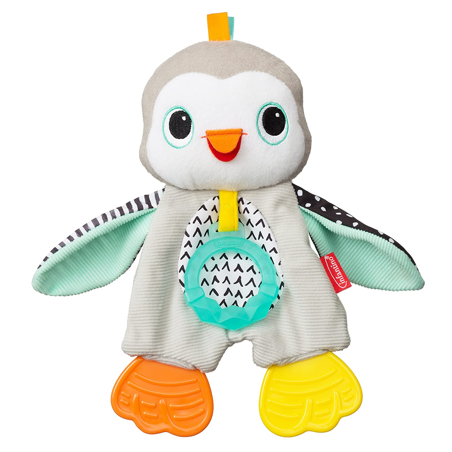 Penguin Infantino Cuddly Teether