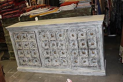 Amazon Com Mogulinterior Shabby Chic Antique Sideboard Old