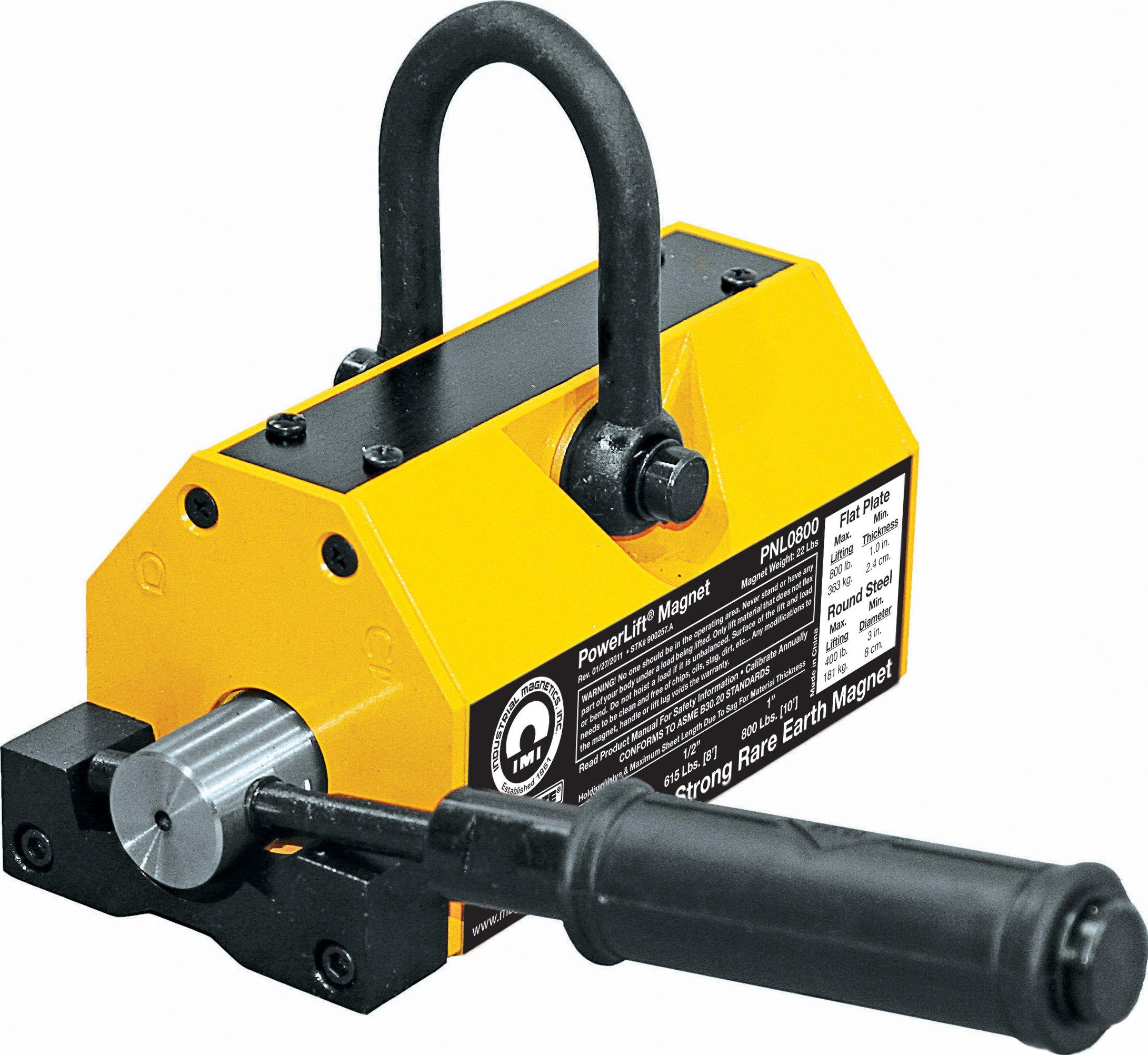 MAG-MATE PNL0800 Lift Magnet Yellow