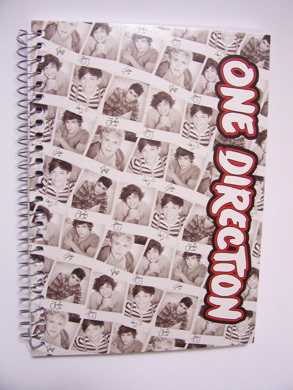 Amazon.com: One Direction (1d) Cuaderno de espiral ~ firmas ...