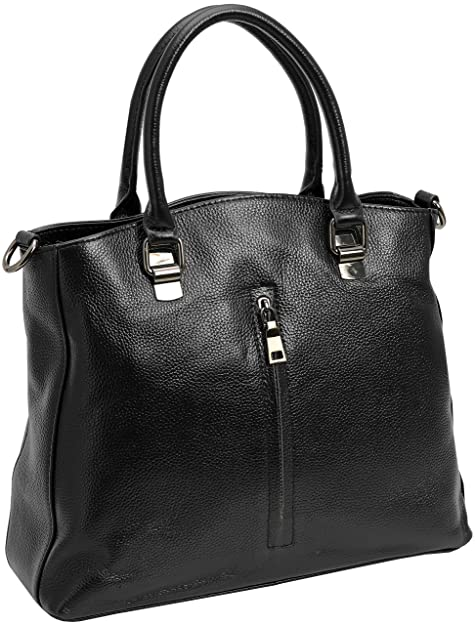 912bbf6e9d9 HESHE Womens Leather Shoulder Handbags Hobo Tote Purse Top Handle Bag  Designer Satchel Cross Body Bags Purses for Ladies