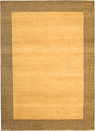 Safavieh Gabbeh Collection GB599B Hand-Knotted Multicolored Premium Wool Area Rug 5 x 8