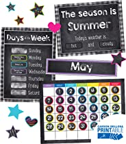 Twinkle, Twinkle, You're A Star! Calendar Printable Bulletin Board Set