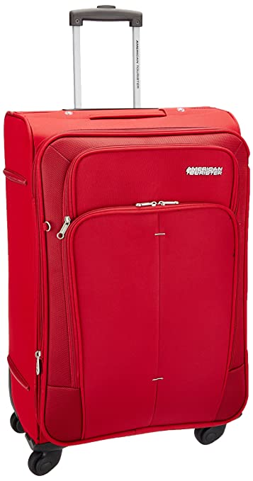753103361494 American Tourister Polyester 77 cms Red Soft Sided Suitcase (49W (0) 00 003)