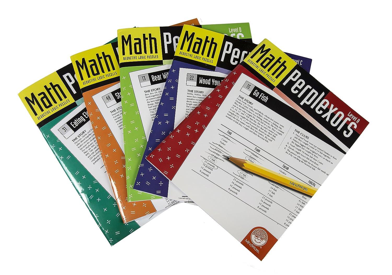 MindWare Math Perplexors: Level D: Amazon co uk: Toys & Games