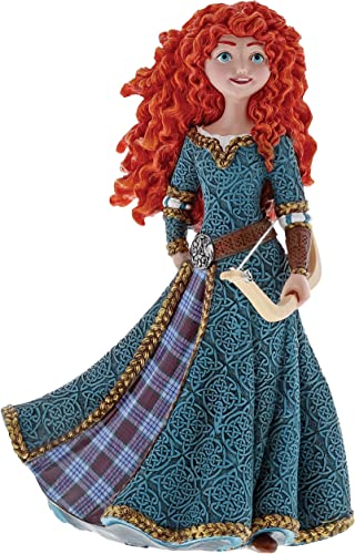 Enesco Disney Showcase Couture de Force Brave Merida Stone Resin Figurine, 7.87 Inch, Multicolor