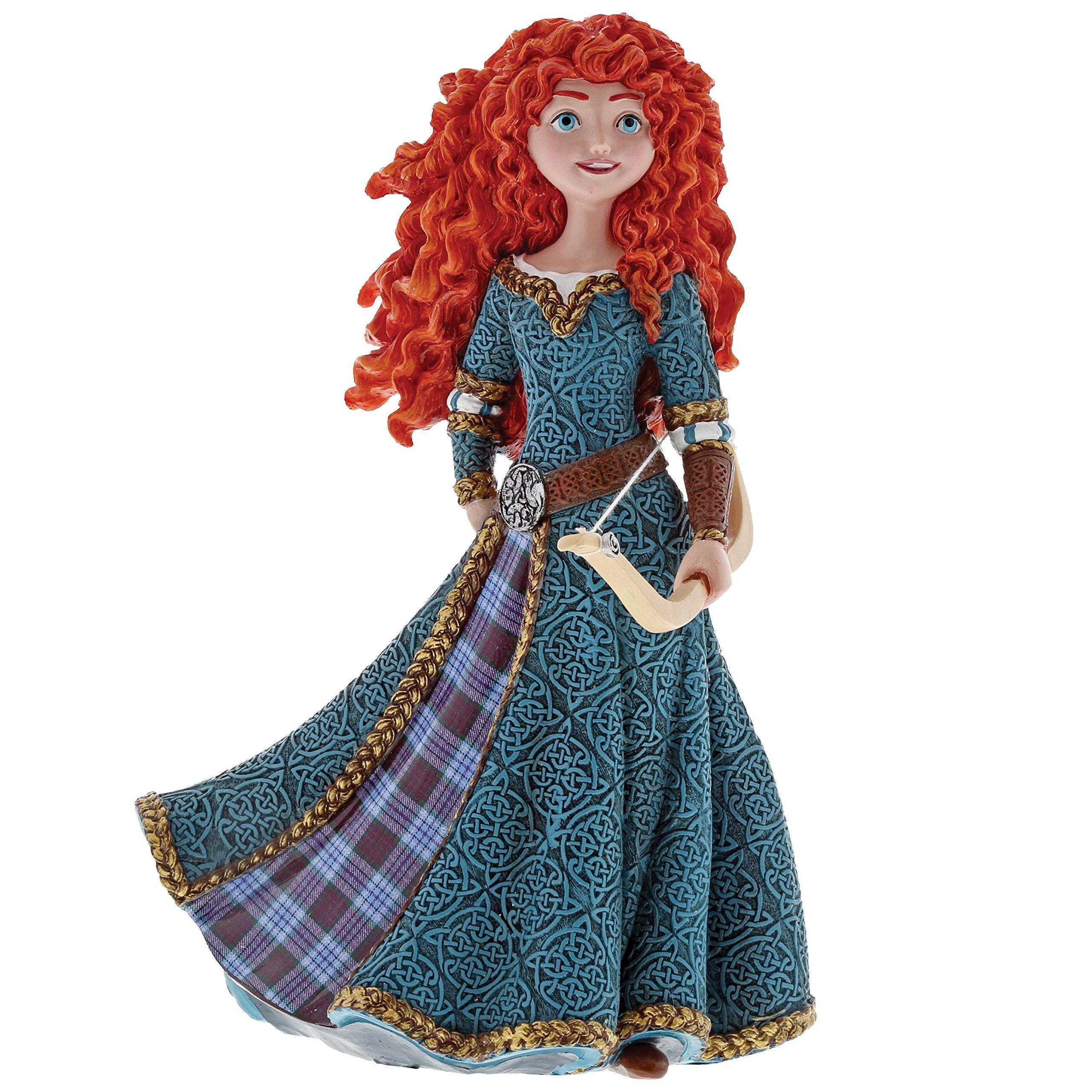 "Enesco Disney Showcase ""Brave"" Merida Couture de Force, 8"" Stone Resin Figurine, 8'', Multicolor"