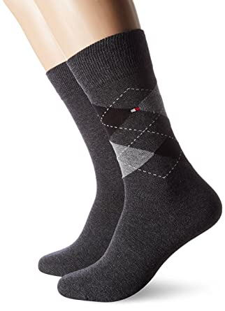 6e827f2411f Tommy Hilfiger TH Men Sock Check 2P