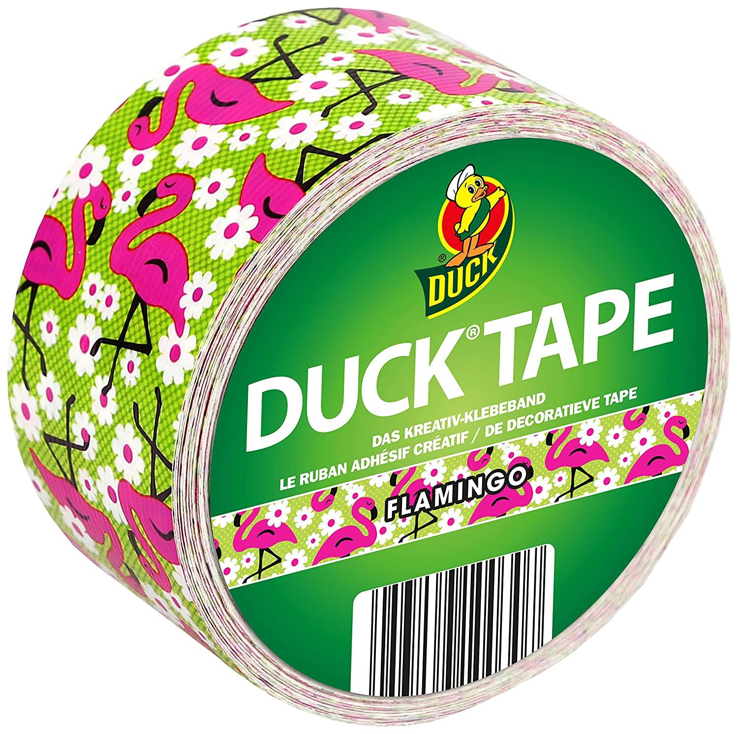 Duck Tape 221659   Gaffer Duct Tape, 48   mm Wide x 9.1   Metres Length   -   Flamingo 48 mm Wide x 9.1 Metres Length - Flamingo Ducktape 100-30