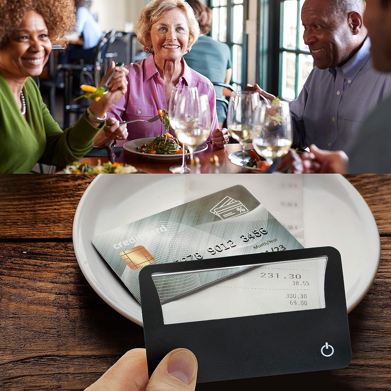 Amazon.com: Tarjeta de Crédito Lupa con ligero tamaño Exacto ...
