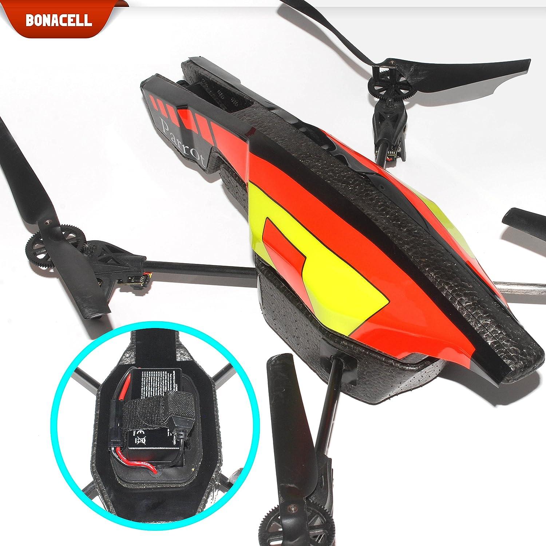 Bonacell - Batería de Repuesto para Parrot AR.Drone 2.0 (2 ...