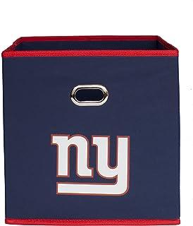 NFL Fabric Storage Bin 11-inch  sc 1 st  Amazon.com & Amazon.com: NFL New York Giants Recliner Reversible Furniture ... islam-shia.org
