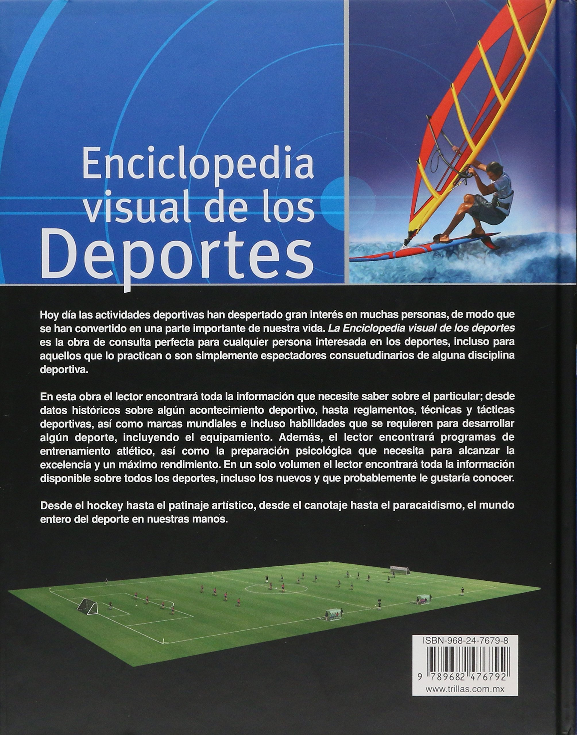 Enciclopedia visual de los deportes/ Sports: The Complete Visual Reference (Spanish Edition): Jacques Fortin: 9789682476792: Amazon.com: Books