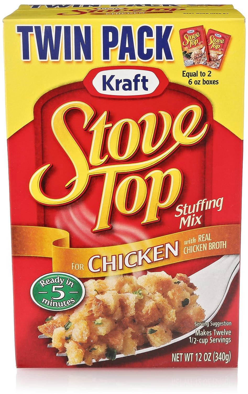Amazon.com: Stove Top Stuffing Mix, Chicken, 12 Ounce Box: Prime ...