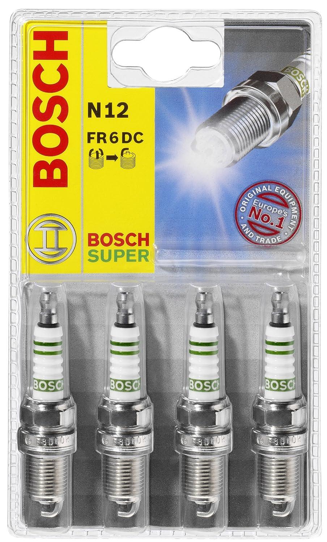Bosch 0242229994 WR8LC N31 - Bujías (4 unidades): Amazon.es: Coche y moto