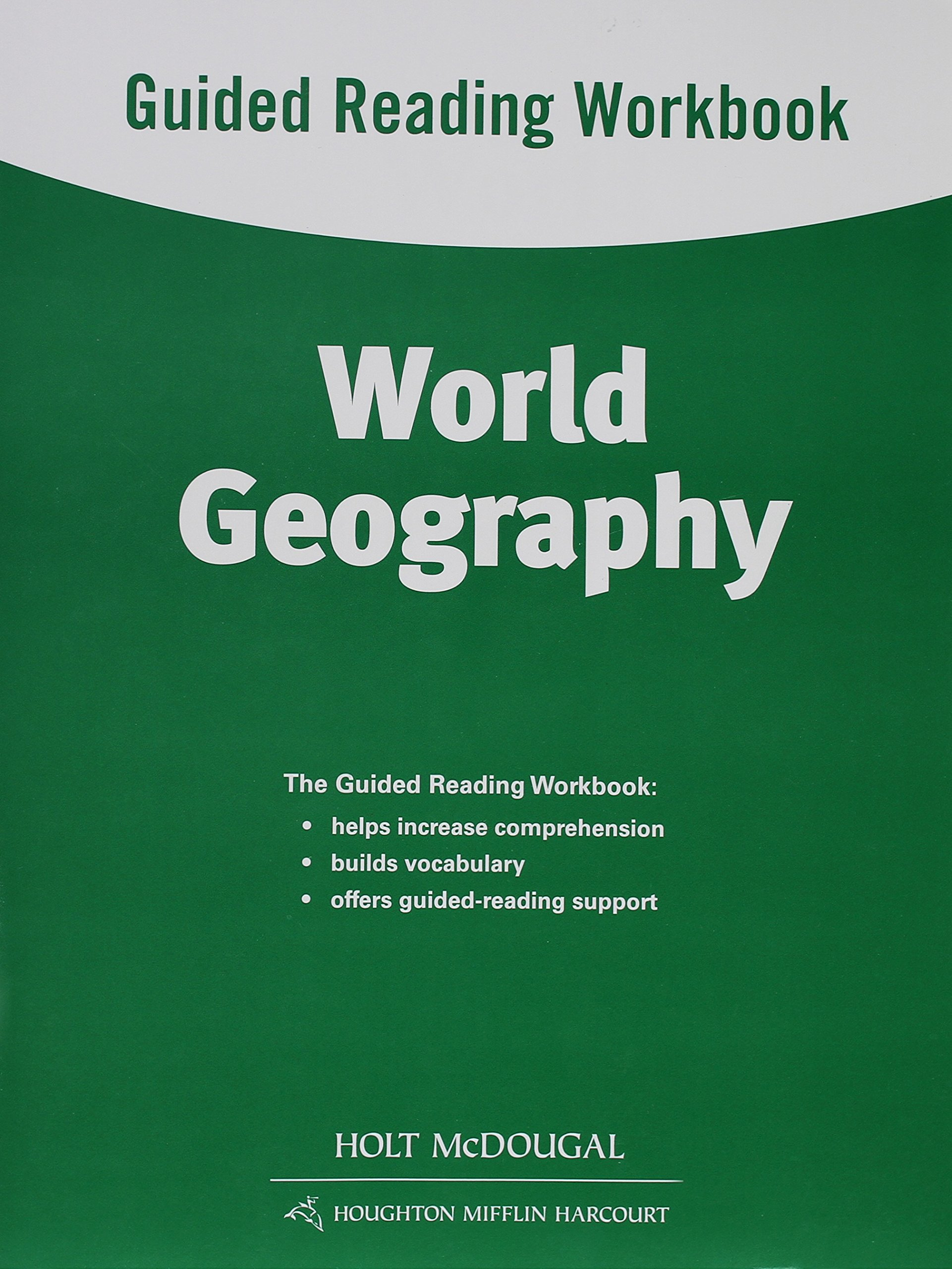 world geography guided reading workbook holt mcdougal rh amazon com Geography Bee Questions world history and geography guided reading answers