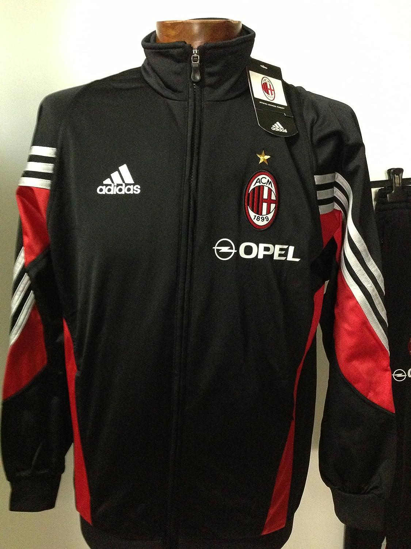 adidas Chándal AC Milan 2003/2004, Nero BLK: Amazon.es: Deportes y ...