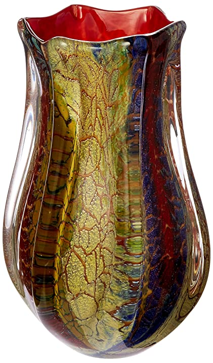 Amazon Dale Tiffany Carnival Vase Home Kitchen