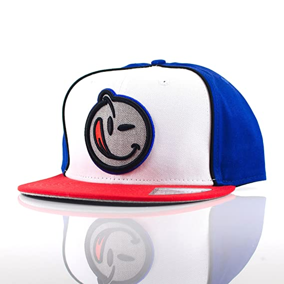 New Era YUMS Smiley Face  Classic Outline  Blue White Red Grey ... 3a289b62ef6