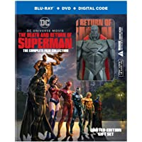 The Death and Return of Superman: The Complete Film Collection (Blu-ray/DVD/Digital)