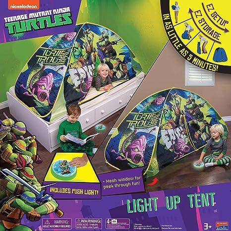 Playhut Teenage Mutant Ninja Turtles luz de Tienda de ...