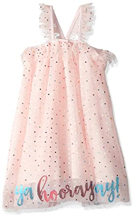 Mud Pie Baby Girls Tulle Birthday Party Dress Costume Pink 12 Months 5T